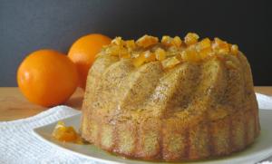 kuglof od naranče i maka
