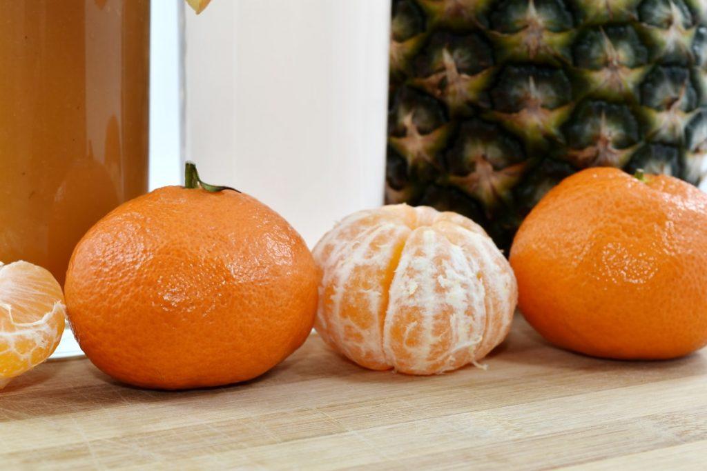 Mandarinom istopite kilograme