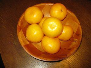 Mandarine trebaju biti zrele