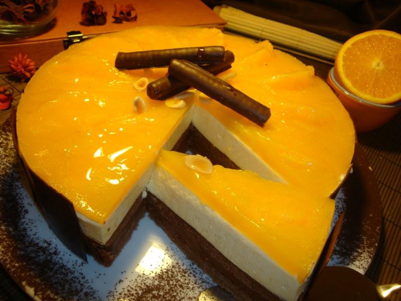 orange torta